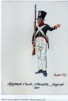 Sergente di un rgt. di fanteria croata
