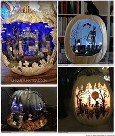 A creative man is motivated by the desire to achieve, not by the desire to beat others. Halloween Diorama, Halloween Fairy, Halloween Projects, Diy Halloween Decorations, Halloween House, Holidays Halloween, Halloween Pumpkins, Rustic Halloween, Halloween Village
