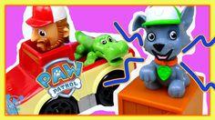 Paw Patrol Spielzeuge Bahn - Paw Patrol Roll Patrol Rocky - Überraschung...