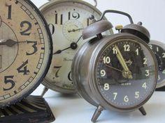 Vintage clocks-never enough!