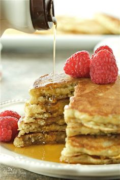 Nutritious Oatmeal Chia Pancakes with Kefir are hearty and delicious. Traditional pancakes are kicked up a notch. Healthy,satisfying, perfect for dinner.