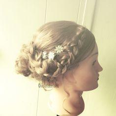 Romantic hair #prom #hair #updo
