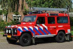 Personeel Materieelwagen korps Amerongen, opbouw HDS