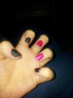 Matte black pink....