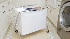 Heavy-Duty 3-Bin Laundry Sorter | The Container Store