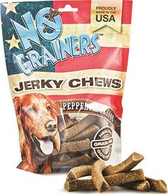 No Grainers by Nootie Jerky Chew Grain Free Liver Treats 1Pound Pepperoni Flavor ** Want additional info? Click on the image.