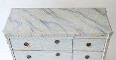 Swedish Late Gustavian Period Chest of Drawers | From a unique collection of antique and modern commodes and chests of drawers at https://www.1stdibs.com/furniture/storage-case-pieces/commodes-chests-of-drawers/