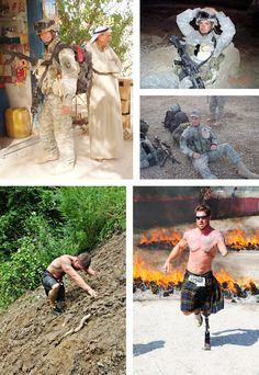 Sergeant Noah Galloway, 502nd Infantry of the 101st Airborne Division Fort Campbell, Kentucky during Operation Iraqi Freedom. Dec 19, 2005 on his 2nd tour Galloway lost part of his left arm and left leg in an IED attack. Now a personal trainer and motivational speaker, he also competes in adventure races around the country plus numerous 5K and 10K races. Galloway took 3rd place in Dancing with the Stars and appeared on the Nov cover of Men's Health Magazine, and named their 2014 Ultimate…