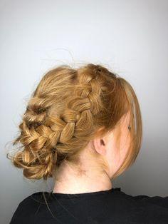 Hair up. Plait, Twists, Up Hairstyles, Updos, Curls, Chelsea, Braids, Dreadlocks, Hair Styles