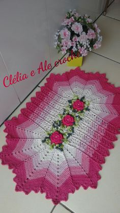 Nova, Pasta, Crochet, Carpet Runner, Crochet Carpet, Crocheting Patterns, Farmhouse Rugs, Flower, Cute