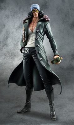 One Piece - 1/8 Portrait of Pirates Aokiji Kuzan Edition Z Series Figure