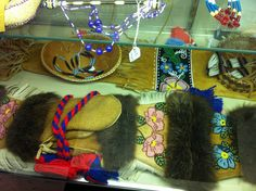 Nenana: Locally produced Native Alaska Athabascan art at the Alfred Starr Cultural Center. This building offers one of the few authentic places you can buy Native art in roadside Alaska. | Flickr - Photo Sharing!