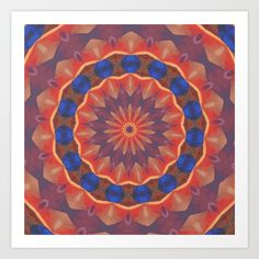#Infinite #Diversities #Mandala #Art #Print by #Taiche | #Society6 https://society6.com/product/infinite-diversities-mandala_print#s6-6944228p4a1v45