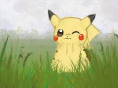 Pikachu Wallpaper- Foggy Field - 50 Lovely Pokemon Wallpapers  <3 <3