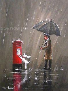 PETE RUMNEY FINE ART MODERN ACRYLIC OIL ORIGINAL PAINTING IMPORTANT MESSAGE in Art, Artists (Self-Representing), Paintings | eBay