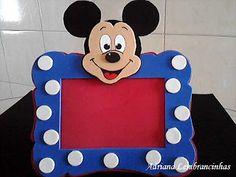Adriana Lembrancinhas: Porta retrato Mickey