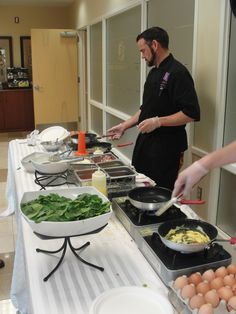 Chef Randy's omelet station can come to you!