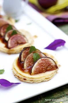 Apron and Sneakers - Cooking & Traveling in Italy: Hazelnut Pancakes with Roasted Figs & Reduced Marsala Sauce and Hallstatt, Austria