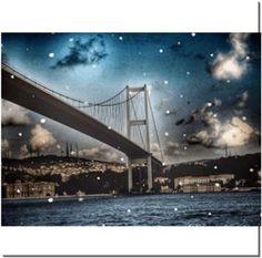 Büşra Çavuşoğlu - Bridge - Kendin Tasarla - HDF Magnet 8x8cm