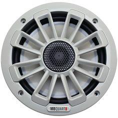 "Mb Quart Nautic Series 6.5"" 120-watt 2-way Coaxial Speaker System (not Illuminated)"
