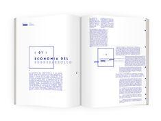 Editorial - Economia del subdesarrollo on Behance