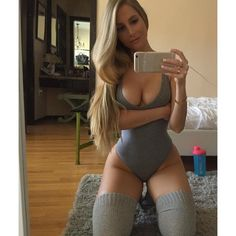 2016 new spring and summer high quality super sexy lady grey retro pretty tight low cut figure V-neck perfect Siamese