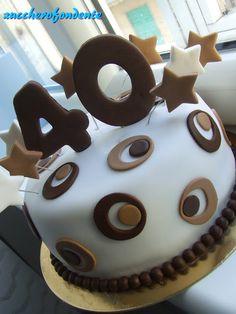 Torta Uomo Smile 40 Anni Zucchero E Farina La Cucina Di Una