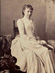 Archduchess Marie Valerie of Austria, daughter of Empress Elisabeth and Emperor Franz Joseph