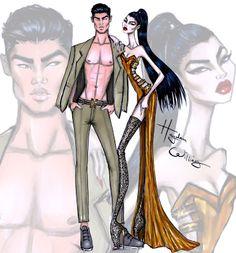 Hayden Williams Fashion Illustrations 'Asian Persuasion' by Hayden Williams