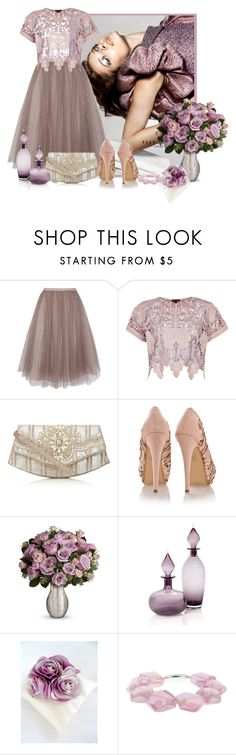 """sequin, light purple, tulle skirt"" by concettodimoda ❤ liked on Polyvore featuring Coast, River Island, Accessorize, Timeless, Snö Of Sweden, women's clothing, women, female, woman and misses"
