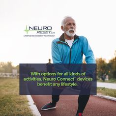 Our Neuro Connect™ devices offer innumerable benefits to those who want to improve balance, muscle and joint control, and strength. Health And Wellness, Benefit, Infographic, Connection, Muscle, Technology, Activities, Lifestyle, Tecnologia