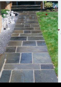 Slate Walkways | Blue Stone Walkway