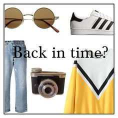 """""""Back in time?"""" by juliaschwartz202 on Polyvore featuring Alexander McQueen and adidas Originals"""