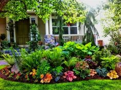 Front Yard Garden Design 25 beautiful front yard landscaping ideas on a budget - 25 beautiful front yard landscaping ideas on a budget Small Front Yard Landscaping, Front Yard Design, Farmhouse Landscaping, Backyard Landscaping, Backyard Ideas, Front Yard Gardens, Small Patio, Backyard Patio, Landscaping Edging