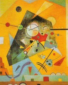 Harmonie Tranquille by Kandinsky, 1924