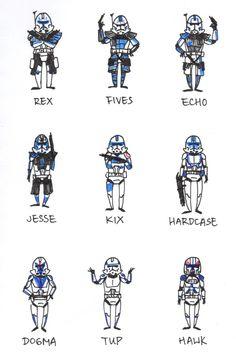 Star Wars Clone Wars, Star Wars Art, Star Trek, Star Wars Clones, Tumblr Stars, 501st Legion, Star Wars Gifts, Galaxy Art, Wolf