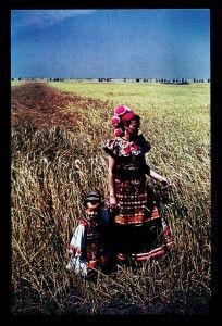 Matyo folk dress on little boy and mom 1940 Mezokovesd - Hungarian Folk Folk Costume, Costumes, Italian Traditions, Hungary, Little Boys, Folk Art, Embroidery, Mom, Homeland