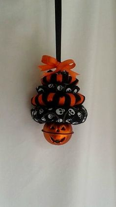 Halloween for Christmas Tree Ornament with by ThisandThatCrafter