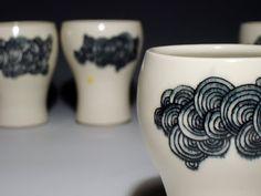 s w or d + f e r n: elizabeth benotti ceramics. mishima technique