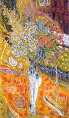 stilllifequickheart:  Pierre Bonnard Flowers 1933