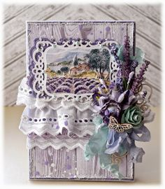 Card Decorative Boxes, Scrapbooking, Creative, Cards, Home Decor, Decoration Home, Room Decor, Maps, Scrapbooks