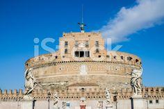 Saint Angel #castle in #Rome royalty-free stock photo #microstockita