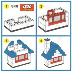 A huge archive of Lego instructions and catalogues. Super Coolio !