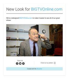New Look for BIGTVOnline.com