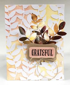 Grateful, Card Ideas, Scrapbooking, Frame, Projects, Cards, Decor, Picture Frame, Log Projects
