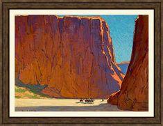 Landscape Art, Landscape Paintings, Landscapes, Mountain Landscape, Watercolor Landscape, Edgar Payne, Westerns, Desert Art, Southwest Art