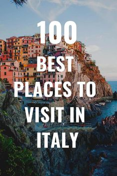 Visiting Italy for the first time and not sure where to go? These are the best places to visit in Italy! What is the most beautiful place in Italy? What is the best town to visit in Italy? Cool Places To Visit, Places To Travel, Travel Destinations, Italy Travel Tips, Budget Travel, Travel Europe, Travel Packing, Solo Travel, Time Travel