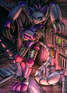 Mizuki-T-A - Student, Traditional Artist Fnaf Oc, Anime Fnaf, Anime Guys, Fnaf Drawings, Cool Drawings, Animal Drawings, Freddy S, Five Nights At Freddy's, Fnaf Wallpapers