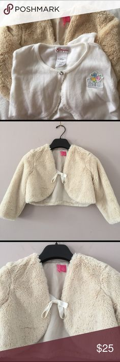 Girl top Nwot! Very soft feel and real cute out cover for girls! Sale as is! Hype Jackets & Coats