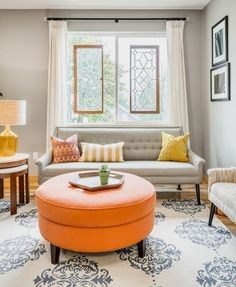 Before & After: A Lego Addict's Lovely Living Room — Professional Project